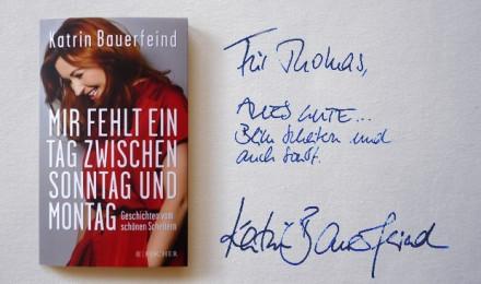 Katrin Bauerfeind: Mir fehlt ein Tag zwischen Sonntag und Montag